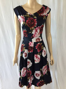Timeless 11709V26 Melissa Vintage Floral Dress