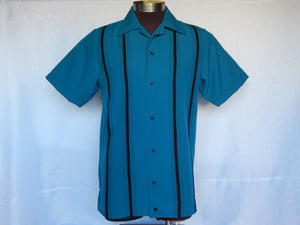 Nifty50's Cruisin Double Stripe Men's Shirt