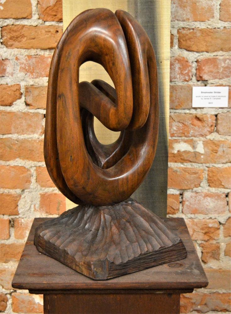 Convolute (walnut) by James Alexander Thom