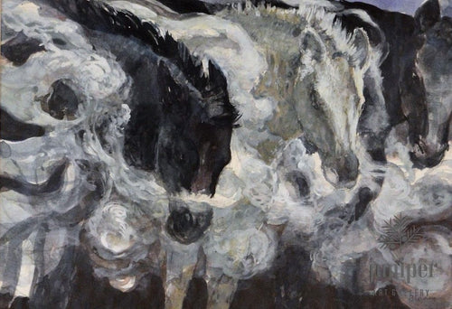 Horses' Breath by Mark Blaney