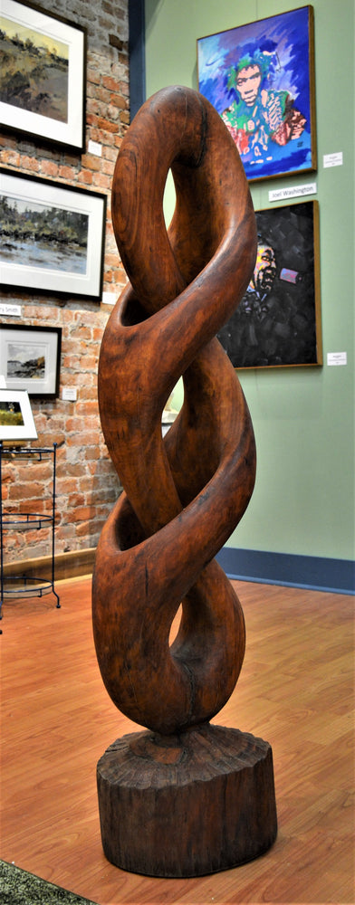 Infinity & 1/2 (cherry) by James Alexander Thom