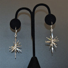 Sterling silver mobile earrings by Lee Cohn