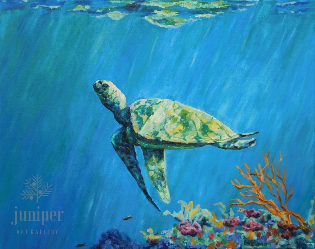 Sea Turtle by Grace (Butedma) Gonso