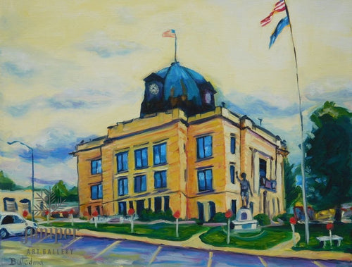 Spencer Courthouse by Grace (Butedma) Gonso