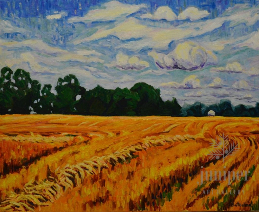 Wheat Field by Grace (Butedma) Gonso