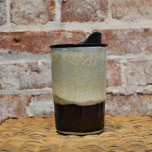12 oz Ceramic Travel Mug (Earth Glaze) by Hannah Martin
