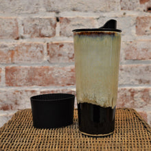 20 oz Ceramic Travel Mug (Earth Glaze) by Hannah Martin