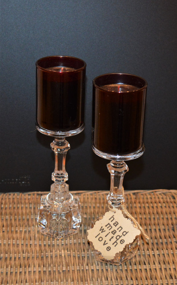 Crystal Candle Holder Set by Jenny Stankiewicz