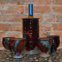 Wine Cooler & Cups Set by Kris Busch