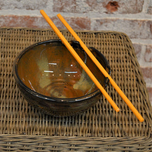 BLOL-60 (set of Two) Ceramic Rice Bowls