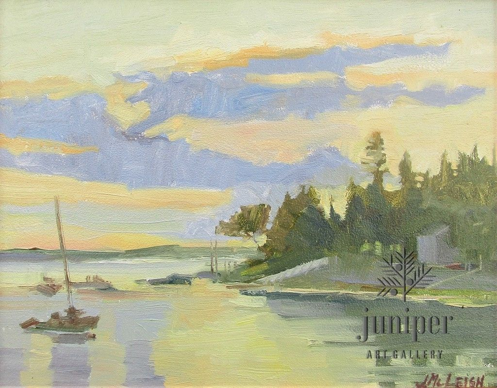 Harbor View by Jeanne McLeish