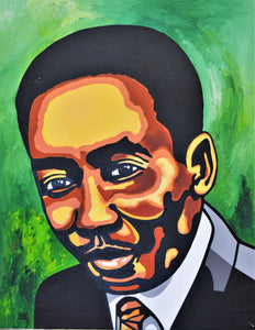 Muddy Waters, acrylic painting by Joel Washington