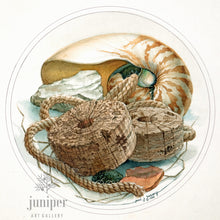 Dal mare Nautilus (reproduction from original watercolor by Paul J Sweany)