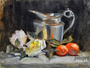 Clementines & Silver (unframed) by Donna Shortt