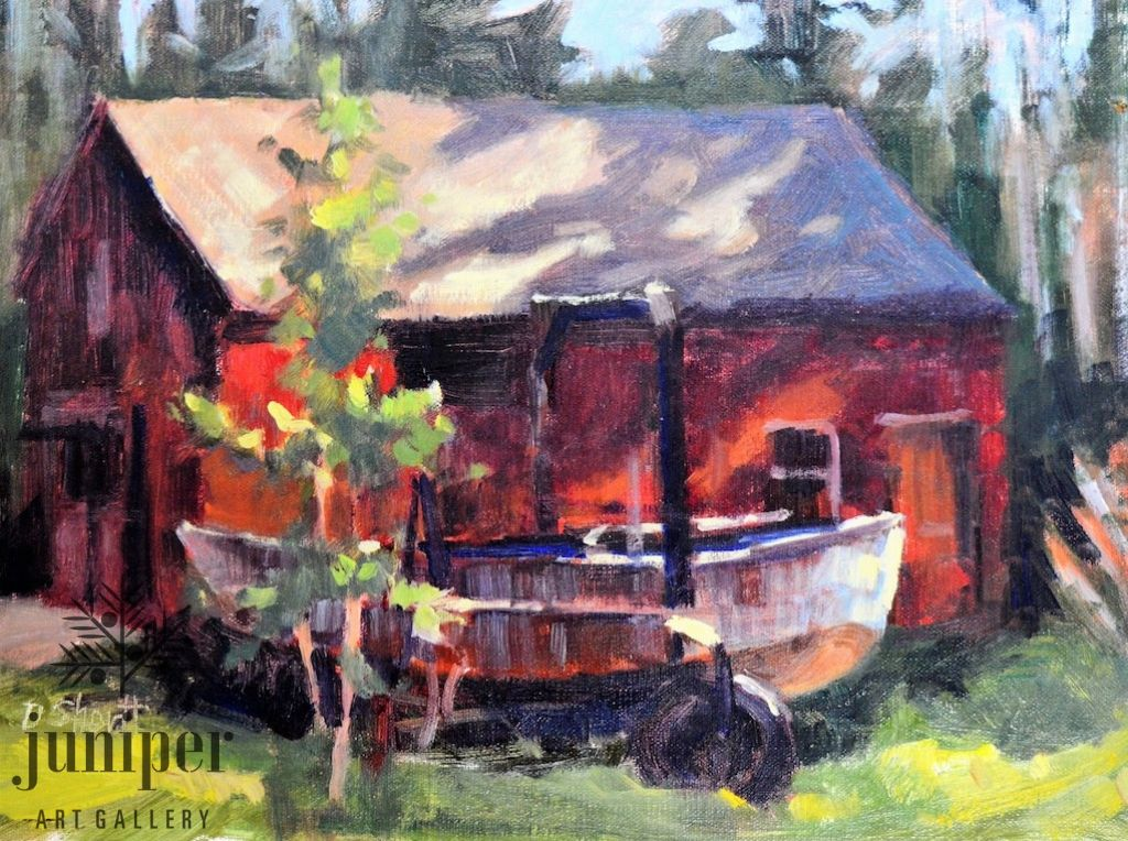 Fish Market Lot (unframed) by Donna Shortt
