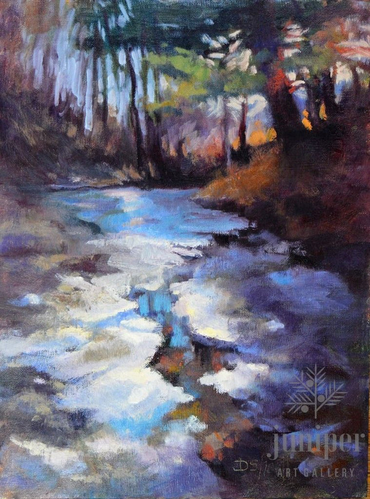 Frozen Creek Memories (unframed) by Donna Shortt