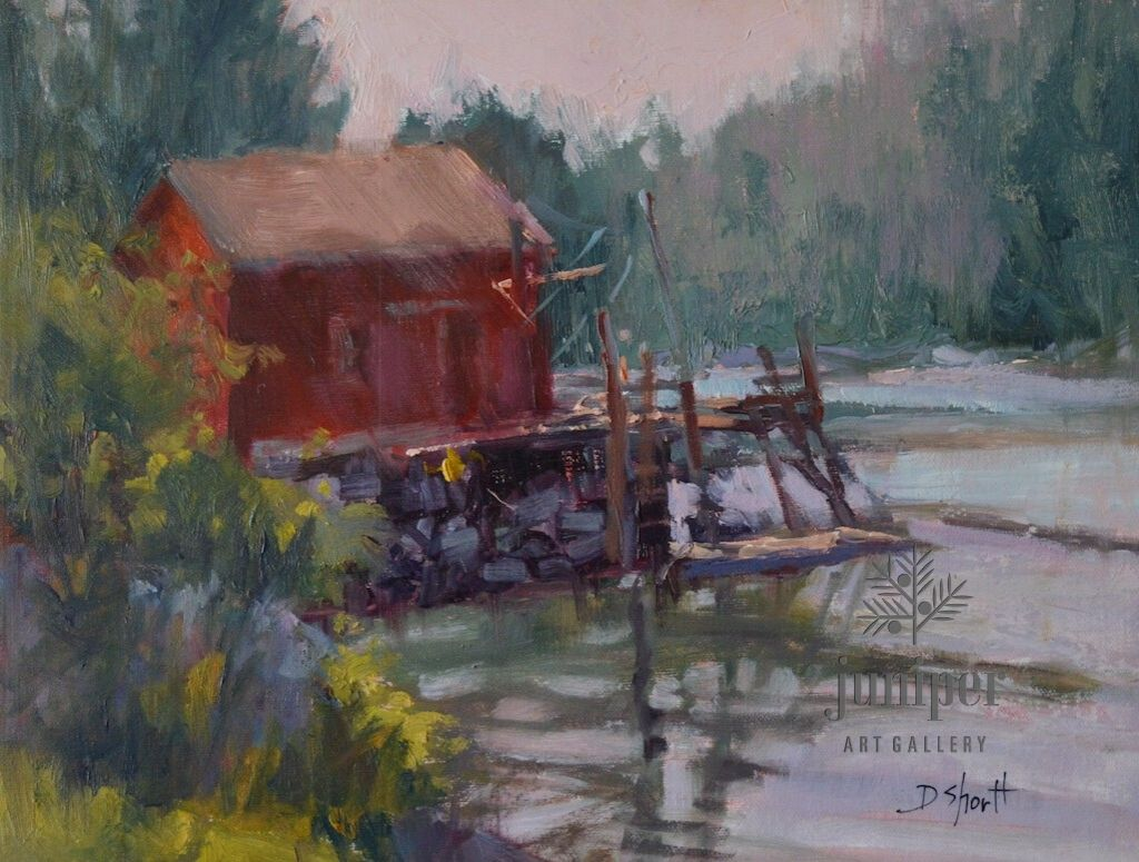 Morning at McLoons, Maine (unframed) by Donna Shortt