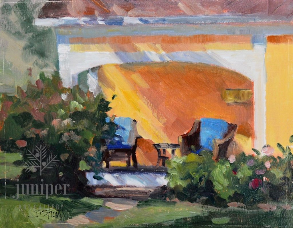Porch Session (unframed) by Donna Shortt