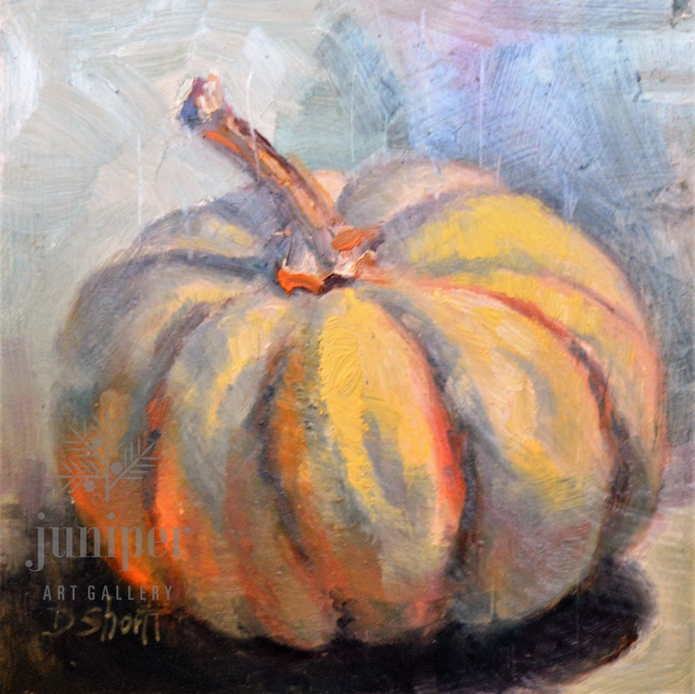 Pumpkin Plenty (unframed) by Donna Shortt