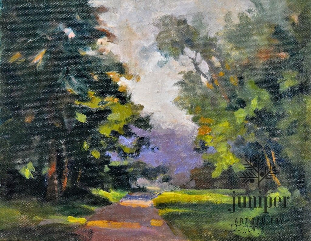 Walk About Study (unframed) by Donna Shortt