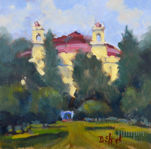 West Baden Square (unframed) by Donna Shortt