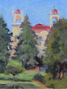 West Baden View, Summer (unframed) by Donna Shortt