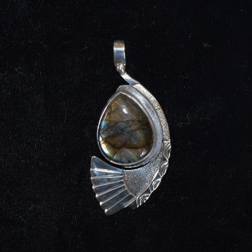 Sterling silver pendant by Tim Terry