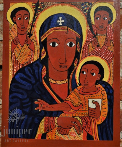 Ethiopian Madonna & Child by Terese Urban