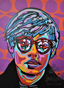 Electric Andy, Andy Warhol (2009) by Joel Washington