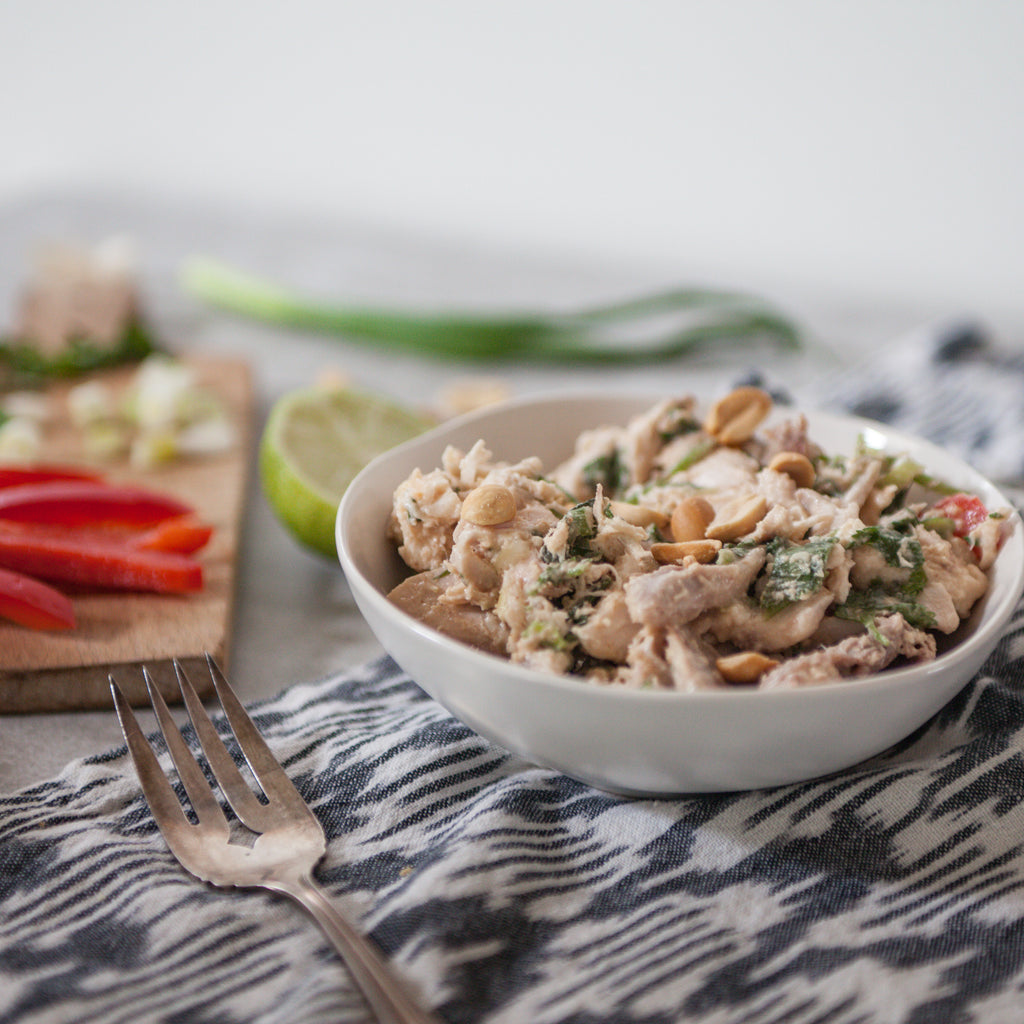 Miso-Ginger Chicken Salad