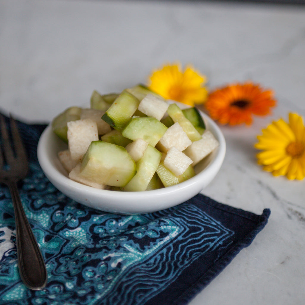 Cucumber-Pear Salad