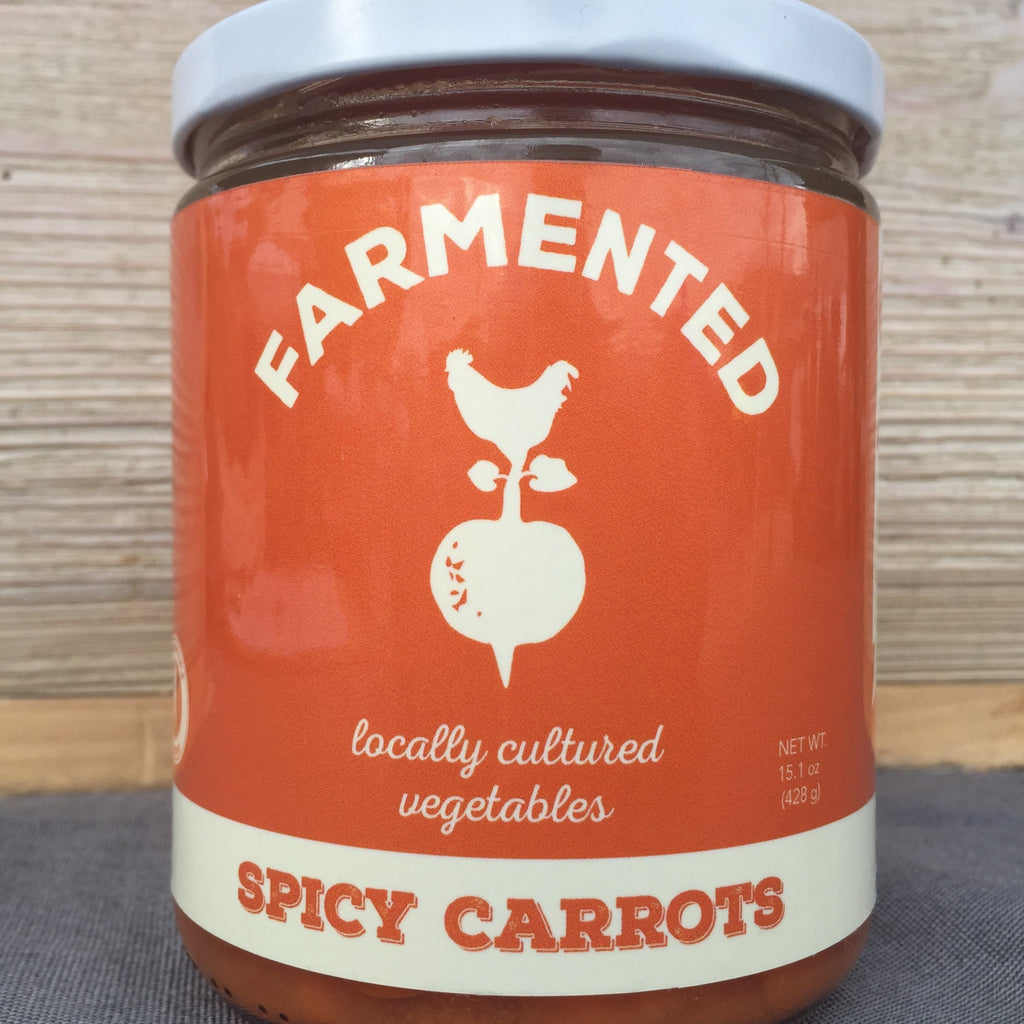 Farmented Foods - Spicy Carrots