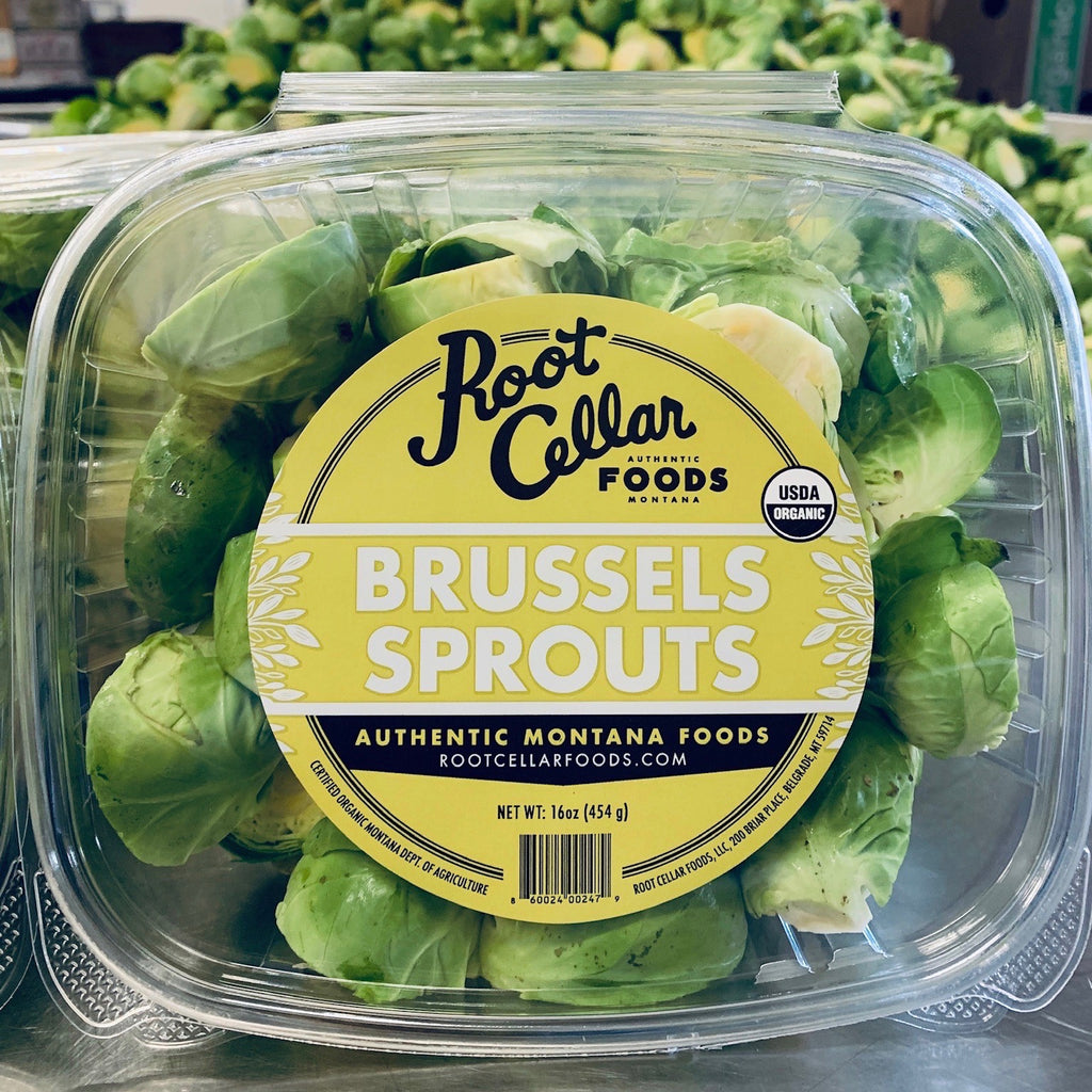 Root Cellar Foods Ready-to-Cook Brussel Sprouts