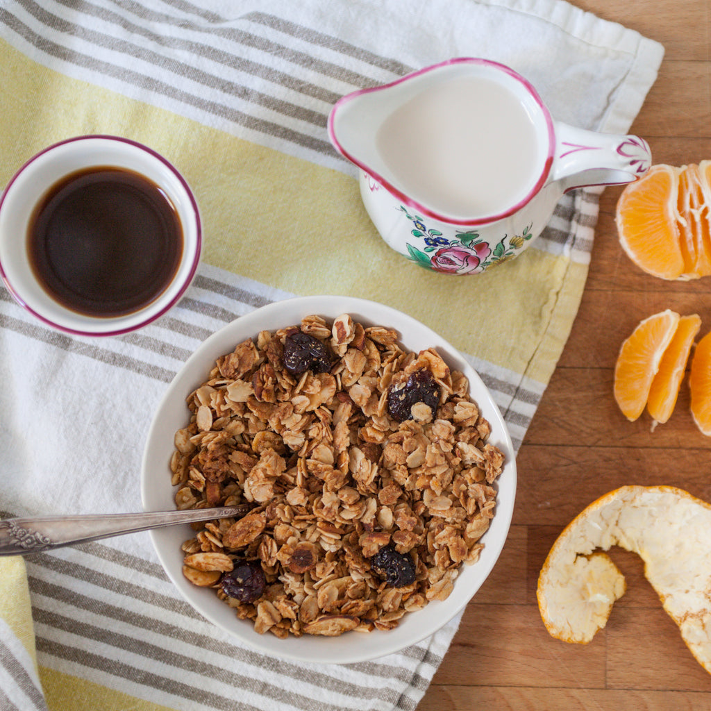 Orange, Ginger & Pecan Granola