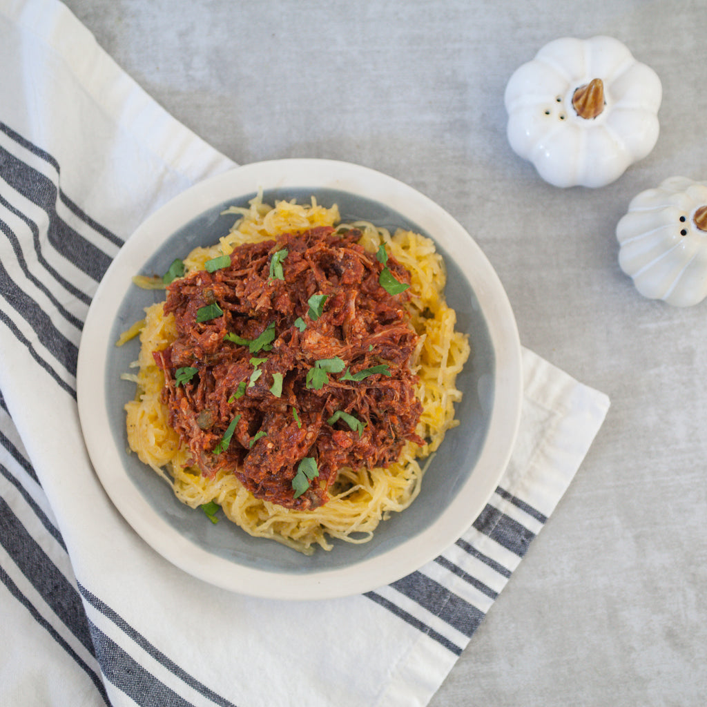 Pork Puttanesca Ragu