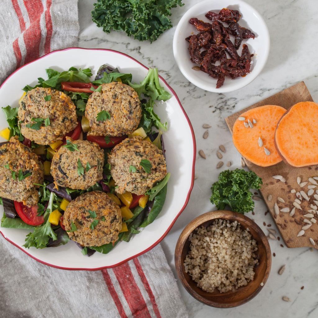Quinoa and Veggie Patties