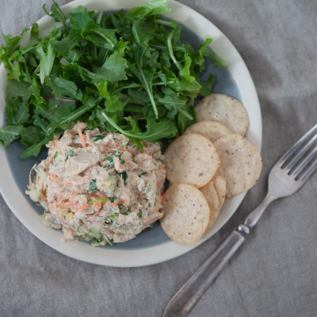 Classic Tuna Salad with Homemade Mayonnaise