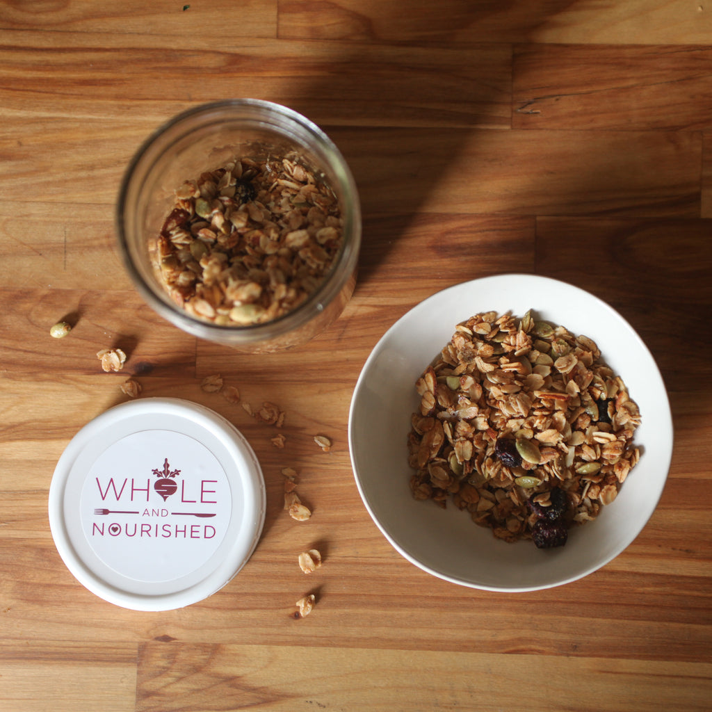 Oat, Nut & Honey Granola