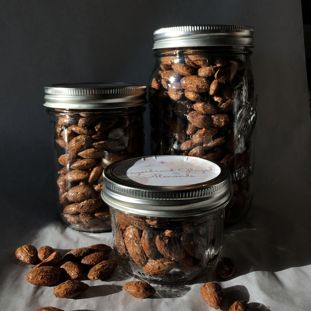 Gingerbread-Glazed Almonds
