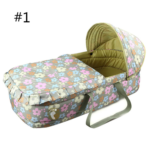 Cozy Portable Newborn Baby Bassinet 🤗