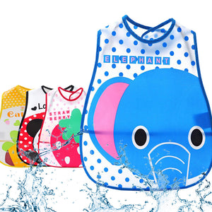 Adorable Cartoon Animal feeding bibs, saliva aprons, and burping cloths.
