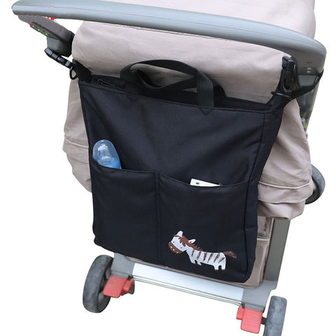 Cute Large Capacity Nappy Stroller Bag