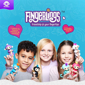 🔥 HOTTEST TOY OF 2017! WowWee Finger Monkey Full Function Interactive Fingerlings w/ Original Packaging (Fingerlings Video In The Description)