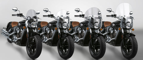 National Cycle® Switchblade Windshields for Indian Scout® Models