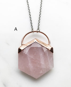 Rose Quartz Ultra Hex