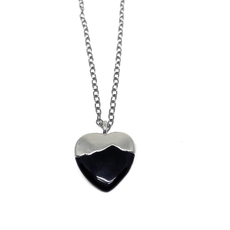 Silver Dipped Heart