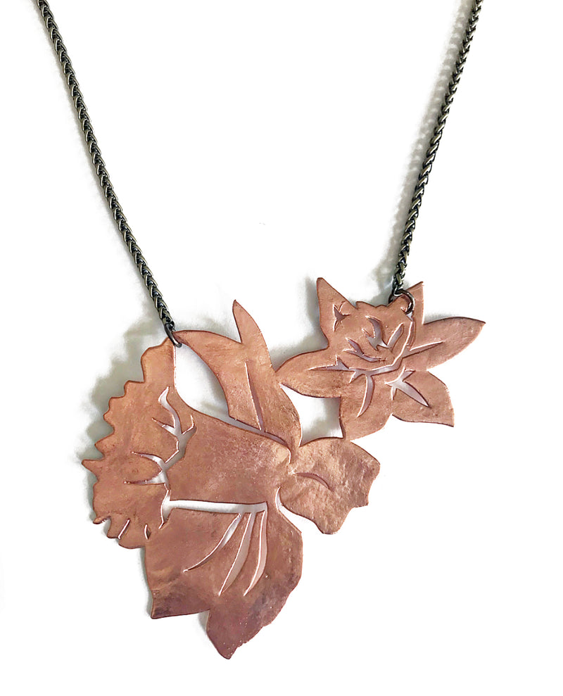 Daffodil Necklace