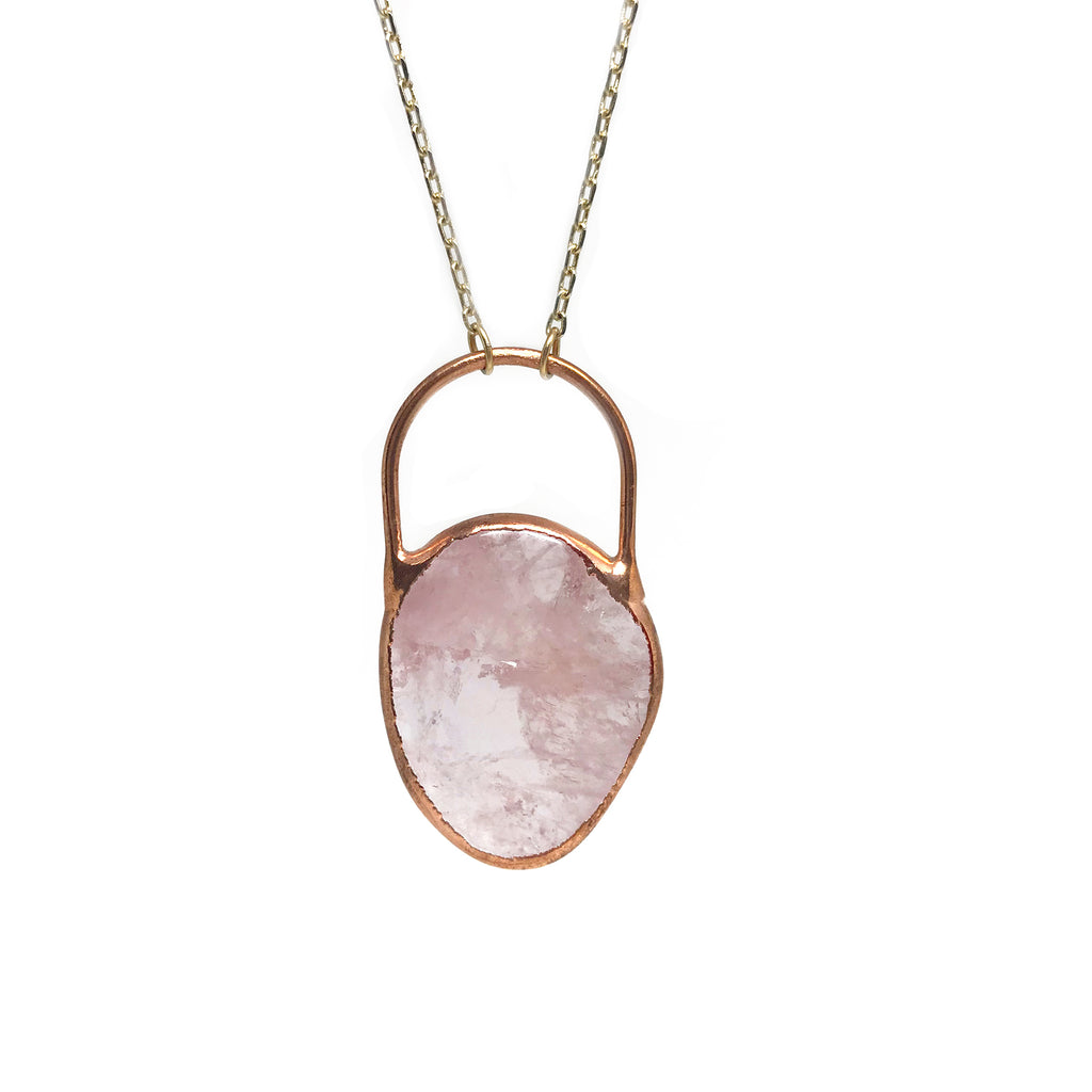Rosie (Rose Quartz Necklace)