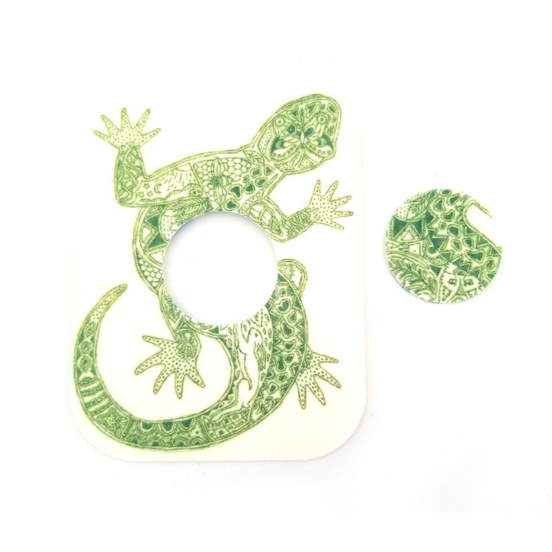Freestyle Libre Silly Patch: Gecko
