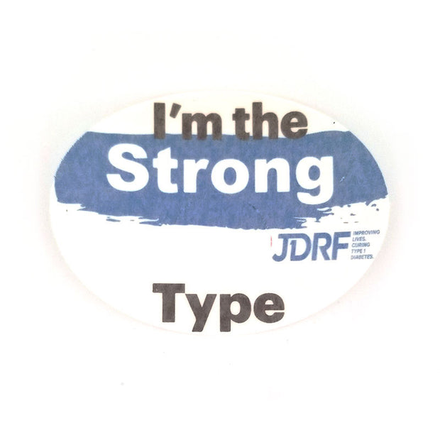 Freestyle Libre Silly Patch: JDRF Strong type